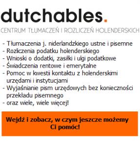 Dutchables - Centrum rozliczeń i tłumaczeń holenderskich