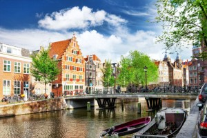 Amsterdam - miasto, stolica Holadnii
