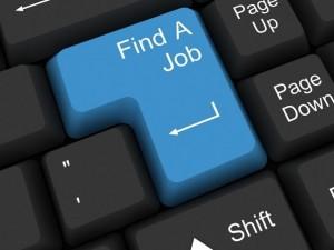 Bezrobotny szuka pracy
