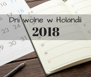 Kalendarz na 2018 - Holandia